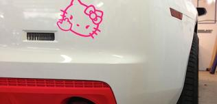 Chevrolet Camaro Hello Kitty
