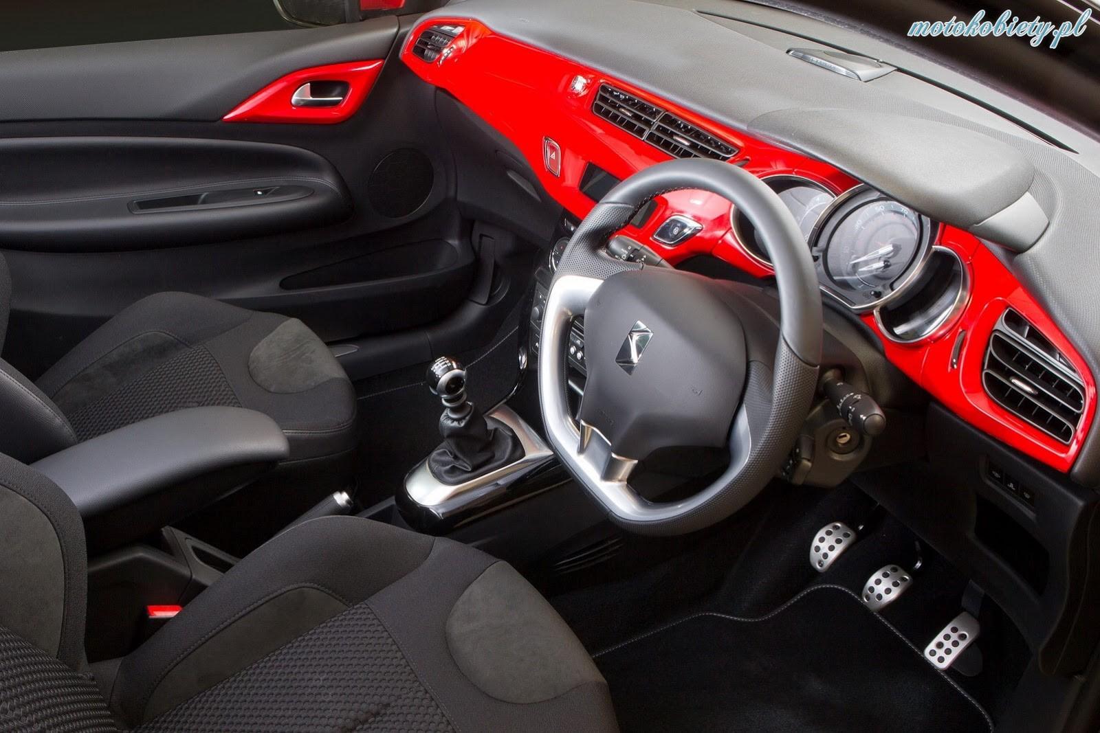 Citroen DS3 RED