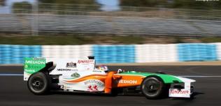 Testy F1 w Jerez