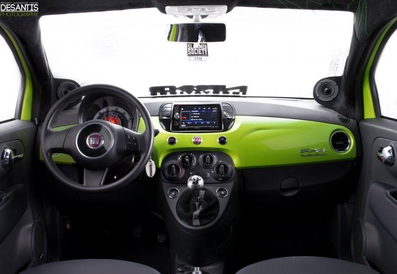 Fiat 500 Findley Customs