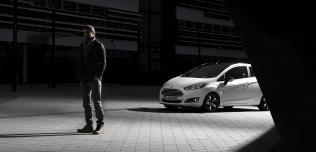 Ford Fiest Black White