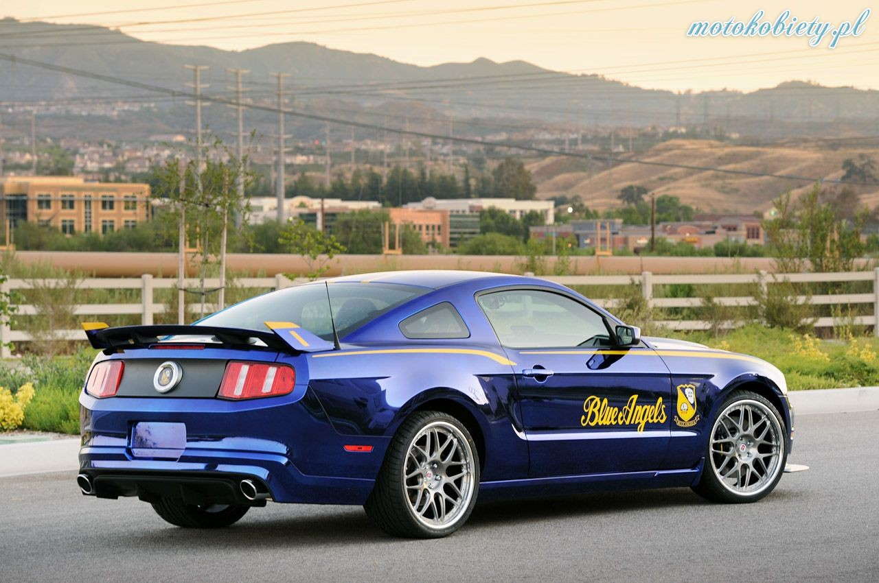 Ford Mustang Blue Angels 2011