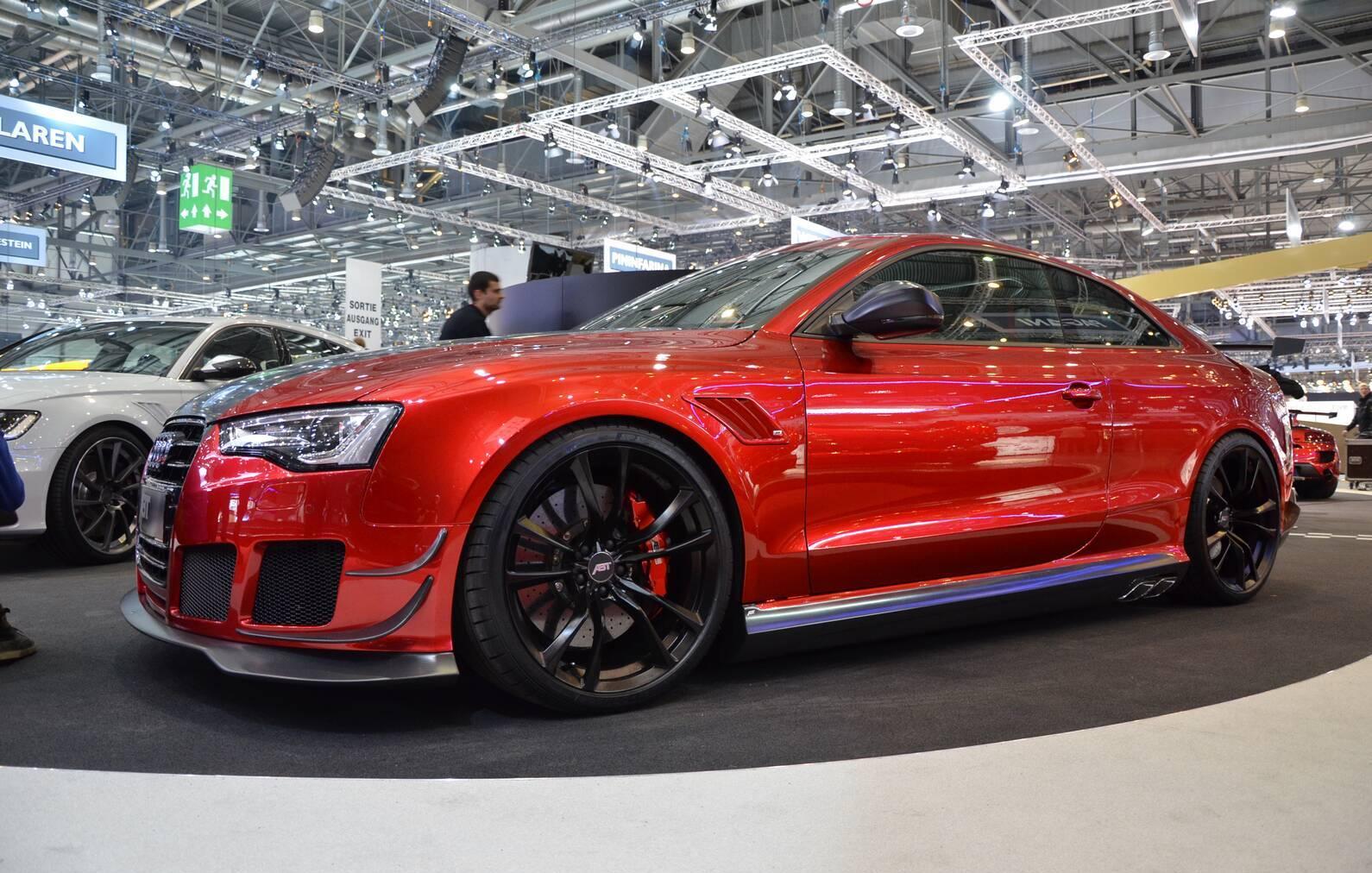 2015 Abt Rs5 R Based On Audi Rs5 Black Front Wallpaper 1