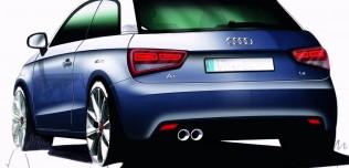 Nowe Audi A1 model 2010
