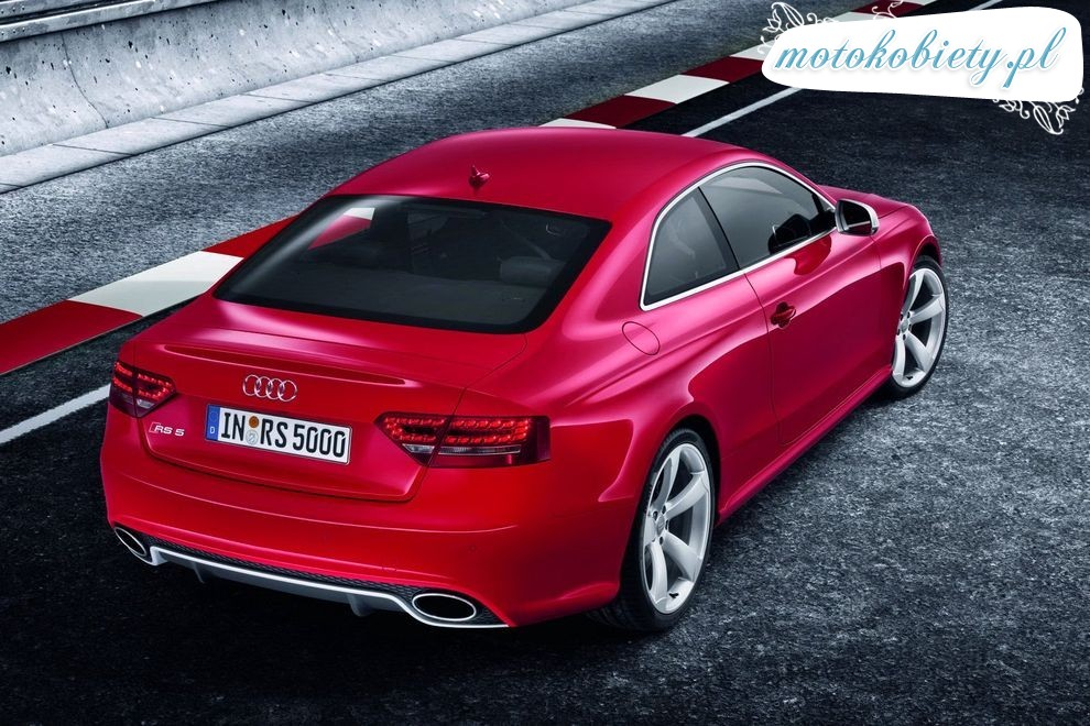 Nowe Audi RS5 Coupe 2010