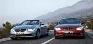 Nowe BMW serii 3 Coupe Cabrio po face liftingu