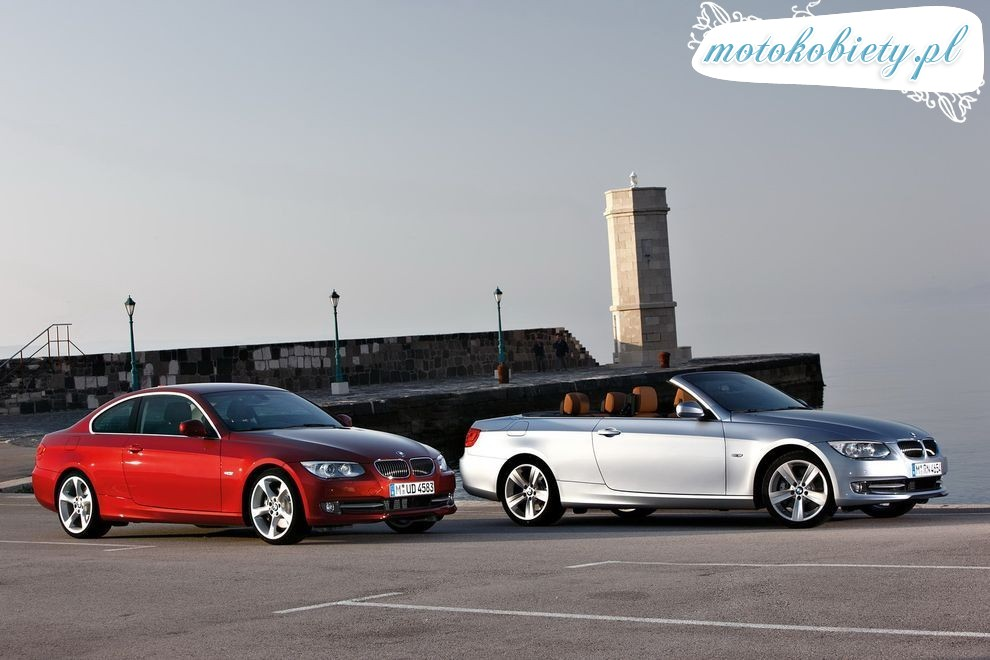 Nowe BMW serii 3 Coupe Cabrio po face liftingu