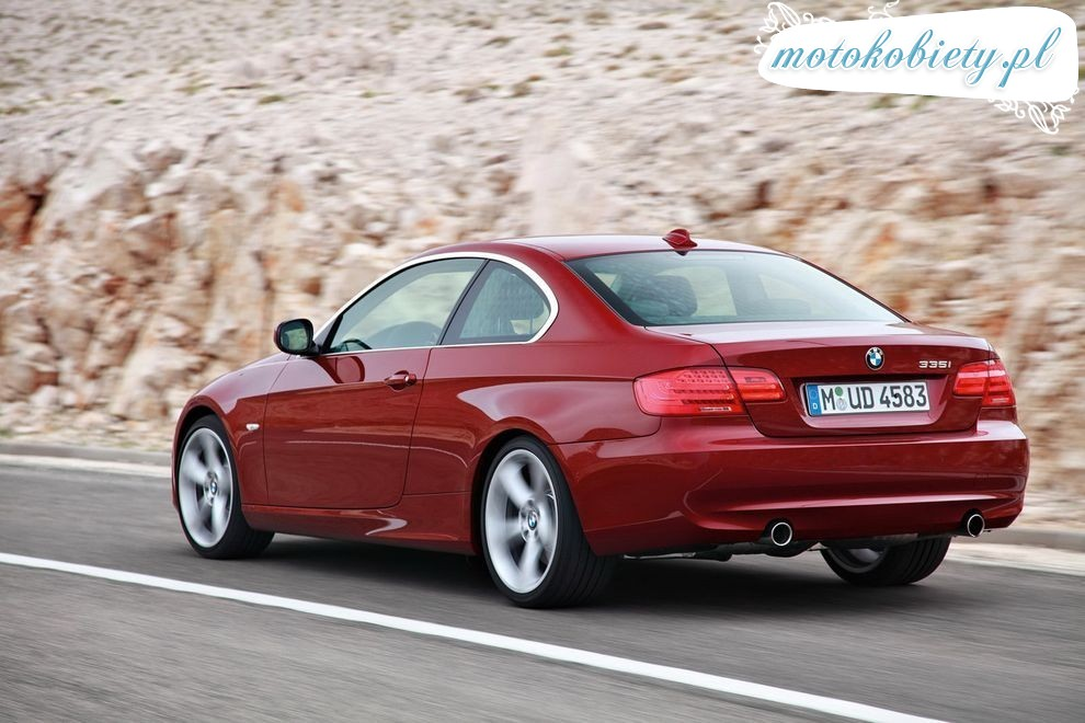 Nowe BMW serii 3 Coupe po face liftingu