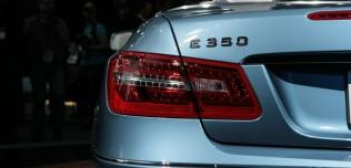 Nowy Mercedes klasy E Cabrio - Detroit Auto Show 2010