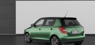 Nowa Skoda Fabia RS 2010 po face liftingu