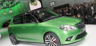 Nowa Skoda Fabia RS 2010 po face liftingu - Geneva Motor Show 2010