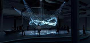 Fluidic Sculpture in Motion