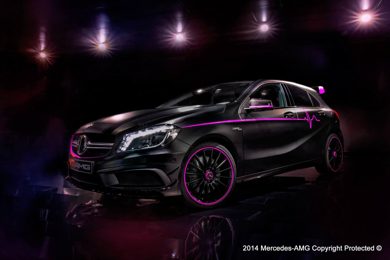 "Mercedes-Benz A45 AMG ""Erika"""