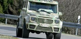 Mercedes G63 Sahara Edition