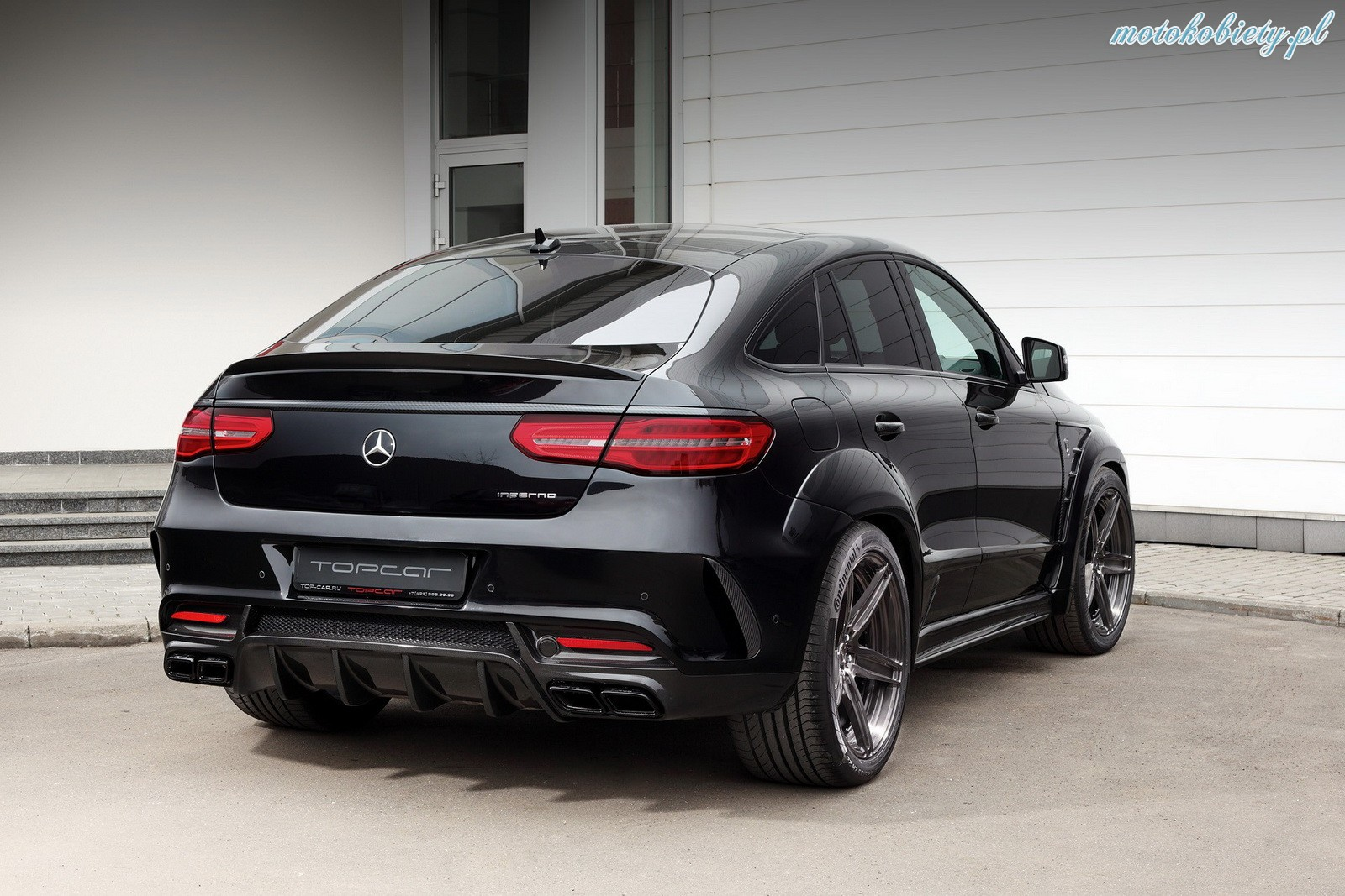 Mercedes GLE Coupe TopCar Inferno