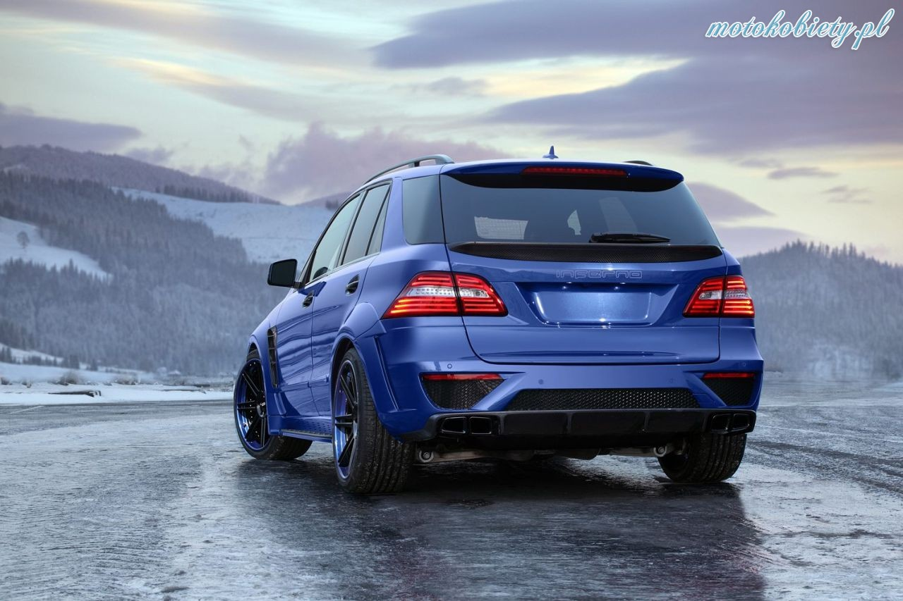 Mercedes ML63 AMG TopCar Inferno