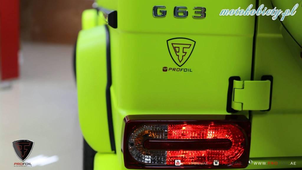 Mercedes G63 AMG Profoil