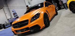 Mercedes CLS550 Black Bison