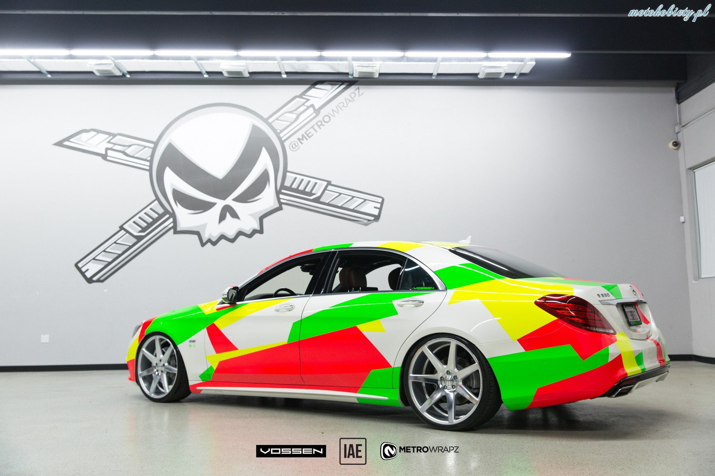 Mercedes S550 Vossen