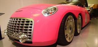 Różowe auta