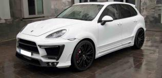 Porsche Cayenne Turbo White Dream Edition