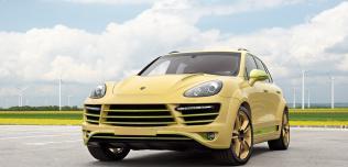 Lemon Porsche Cayenne Vantage 2