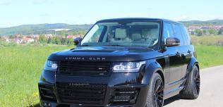 Range Rover Vogue 2013 Lumma CLR R