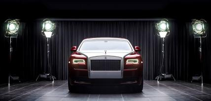 Rolls Royce Red Diamond