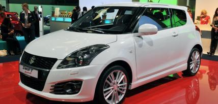 Suzuki Swift Sport 2012 - Frankurt