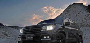 Toyota Land Cruiser Black Bison