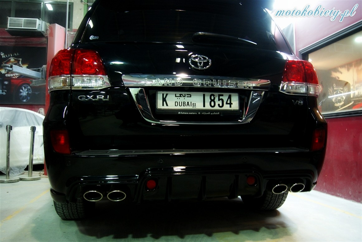 Toyota Land Cruiser Royal Customs