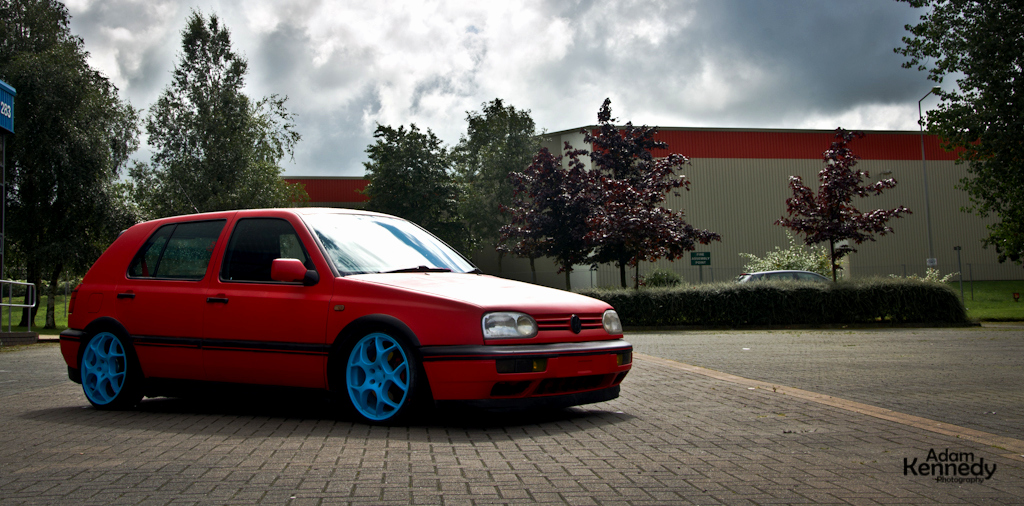 Vw Golf Iii Red 13