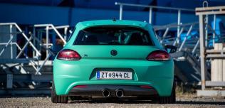 Volkswagen Scirocco Vossen