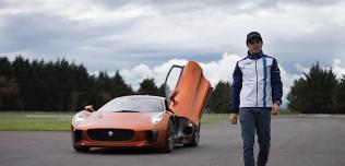 Felipe Massa i Jaguar C-X75