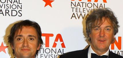 Richard Hammond i James May