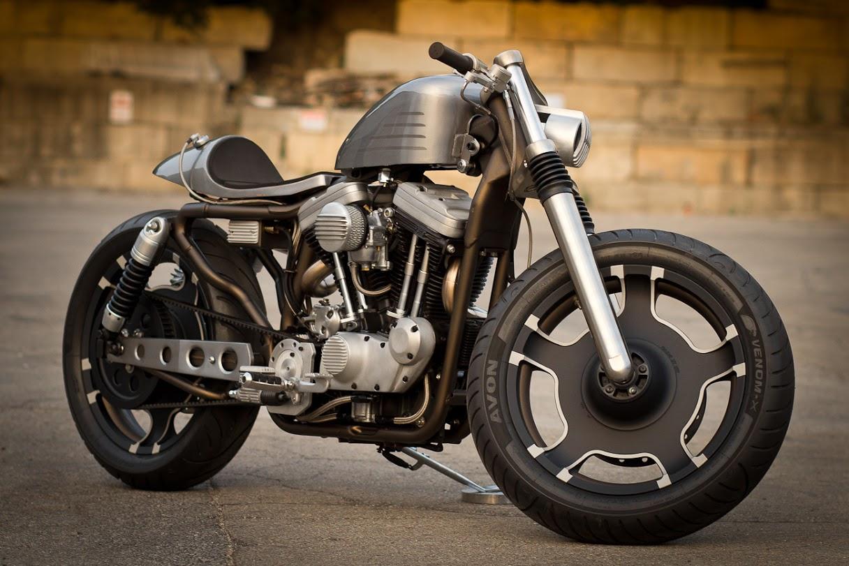 Custom bike: Harley-Davidson Sportster od Bull Motorcycles