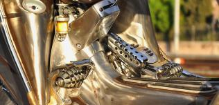 Steampunk Vespa by Pulsar Projects