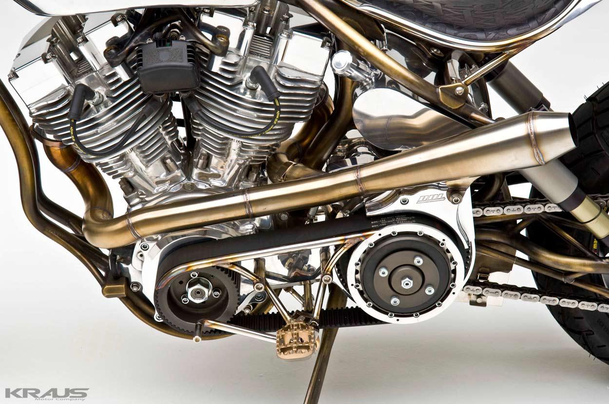Steampunk kraus achuma custom bike 16 for Morning star motor co