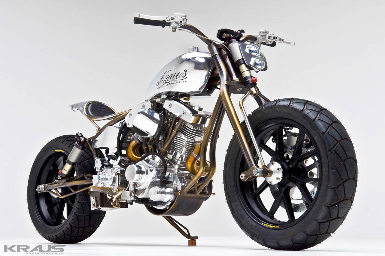 Steampunk Kraus Achuma Custom Bike 30