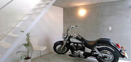 garaż motocyklowy