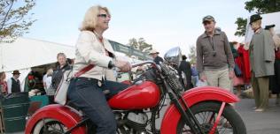 Kobiety na motocyklu