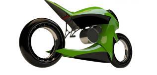 Britten V1000E - motocykl koncepcyjny