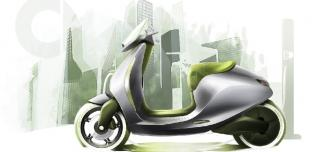 Smart e-skuter