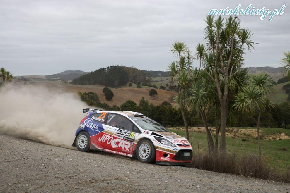 Rajd Nowej Zelandii 2010 - dzień I