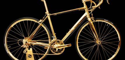 zloty rower Goldegenie