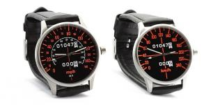 Zegarek inspirowany prędkościomierzem Hondy CBX1000
