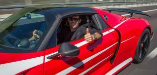 Mark Webber i Porsche 918 Spyder