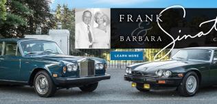 Jaguar XJ-S Franka Sinatry i Rolls-Royce Barbary Sinatry