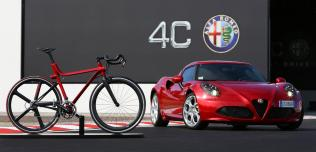 rower 4C IFD inspirowany Alfa Romeo