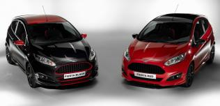 Ford Fiesta Black i Red Edition